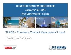THU33-Primavera Contract Management