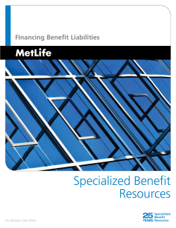 Specialized Benefit Resources