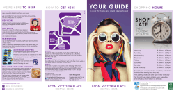 YOUR GUIDE - Royal Victoria Place Shopping Centre