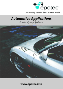 Epotec Epoxy Systems for Automotive Applications