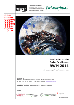 RWM - Resource Efficiency and Waste Managment Solutions