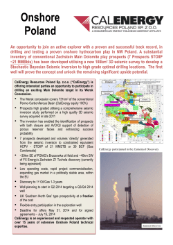 Roc Oil Company Limited - CalEnergy Resources LTD.