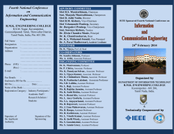National Conference on Information and Communication Engineering