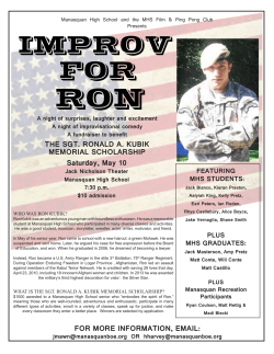 Improv for Ron