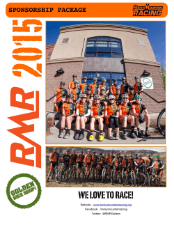 RMR 2015 brochure.pages