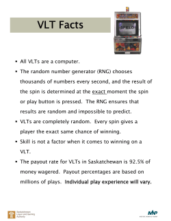 Takeaway 2 - VLT Facts