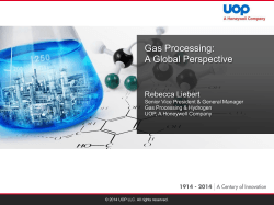 + Gas Processing - United States Energy Association