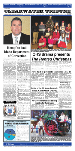 OHS drama presents The Rented Christmas