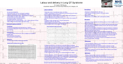 Labour and delivery in Long QT Syndrome