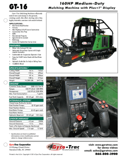 Download Spec Sheet - Gyro-Trac