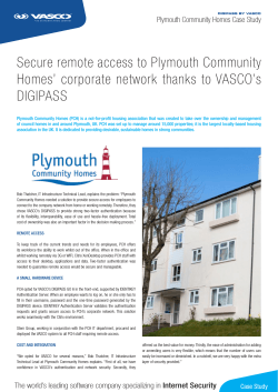 Case Study Plymouth Community Homes
