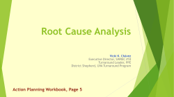Root Cause Analysis - New Mexico State Department of Education
