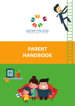 PARENT HANDBOOK - Qatar Finland International School
