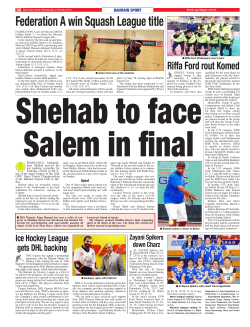 Federation A win Squash League title