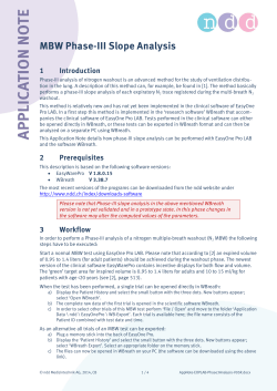 Application Note