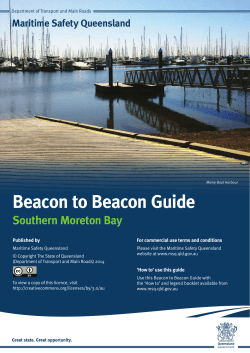 Download Moreton Bay - Maritime Safety Queensland