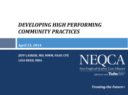 developing high performing community practices
