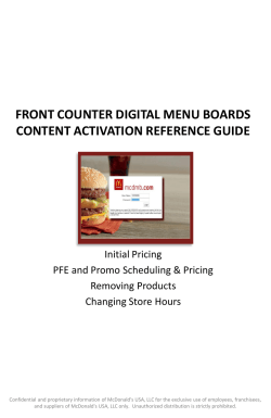 FC DMB Content Activation Reference Guide