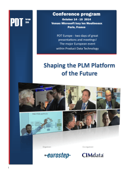 Shaping the PLM Platform of the Future
