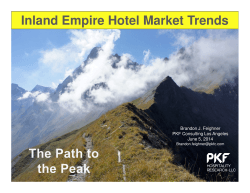 Hotel - Motel Market Overview and Trends