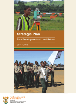 Rural Development and Land Reform Strategy March-2014