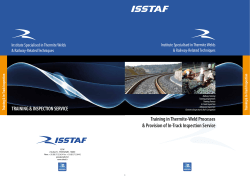 Page Extérieur ISSTAF - English -