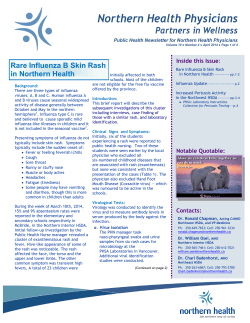 Number 4 - April 2014 - Northern Health Physicians