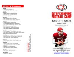 OKC Camp - 2014.cdr - Day of Champions Football Camp
