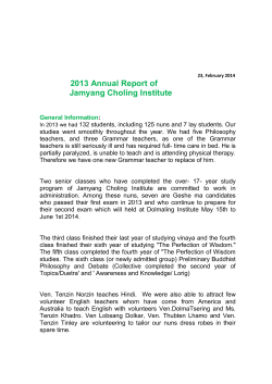 Download our 2013 annual report in PDF