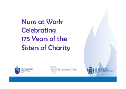 Nuns at Work Celebrating 175 Years of the Sisters of Charity