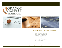 ocm wealth planning worksheet