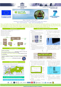 OCMOL poster - Ind Tech 2014 Athens [Read-Only]