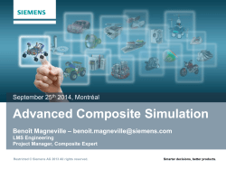 Advanced Analysis of Composites