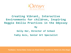 Creating Vibrant, Interactive Environments for children