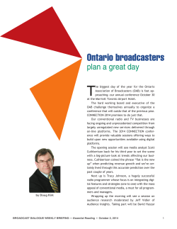 Ontario broadcasters