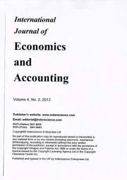 Accounting - ResearchGate