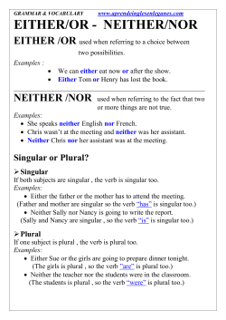 EITHER OR NEITHER NOR.doc - aprende-ingles-en
