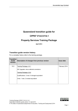 CPP07 Property Services v14 Apr 2014