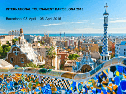 international tournament barcelona 2015