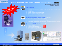 Need to replace your Black camera - horiba-endpoint-semi-mems