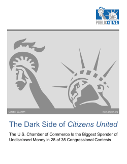 The Dark Side of Citizens United