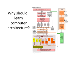 Why should I learn computer architecture?