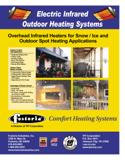 Electric Infrared Outdoor Heating Systems