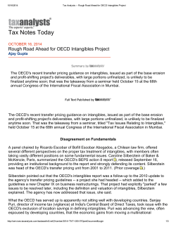 Tax Notes Today - Bofill Escobar Abogados