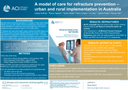 A model of care for refracture prevention