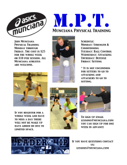 MPT- Munciana Physical Training