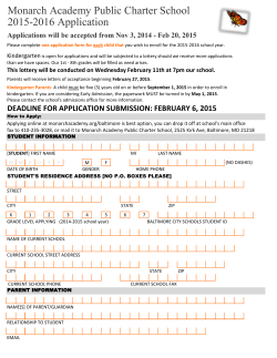 2015-16 application
