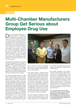 Multi-Chamber Manufacturers Group Get Serious about Employee