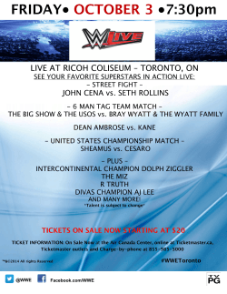 Toronto Event Card - 10.3.14 update 2