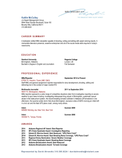 View Resume - Napoli Management Group Showcase